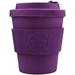 Ecoffee Cup: Sapere Aude with Purple Silicone 240ml