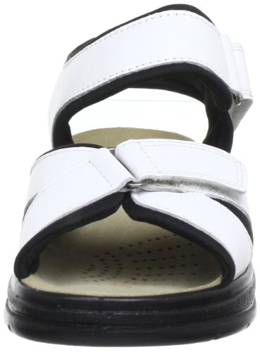 ara Korfu 12-36554-15, Sandali donna Bianco (Weiß (weiss))