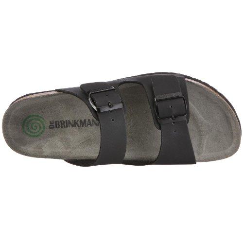 Dr. Brinkmann 601141 Unisex-Erwachsene Pantoletten Schwarz (Schwarz)