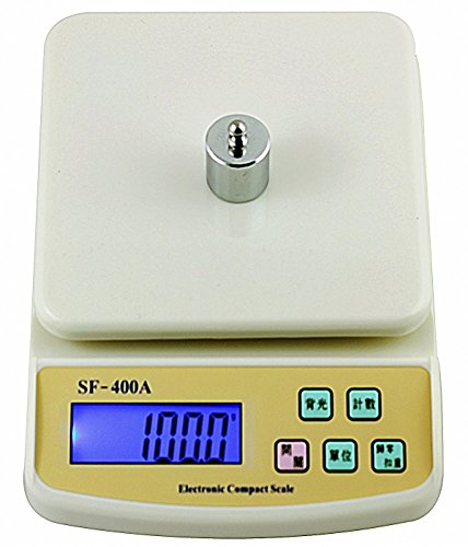 Jeval Best Quality10 KG Electronic Kitchen Food Weight Scale from 1G to 10000G SF 400 A