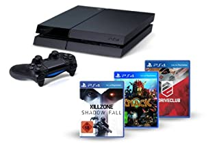 PlayStation 4 - Konsole inkl. Killzone: Shadow Fall, Knack und DriveClub (B00H2GCMI8) | Amazon price tracker / tracking, Amazon price history charts, Amazon price watches, Amazon price drop alerts