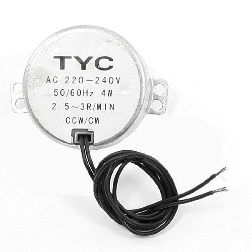 Preisvergleich Produktbild CCW CW Direction 50/60 Hz (DE) 2.5-3RPM Speed Synchronmotor AC 220 V 4 W
