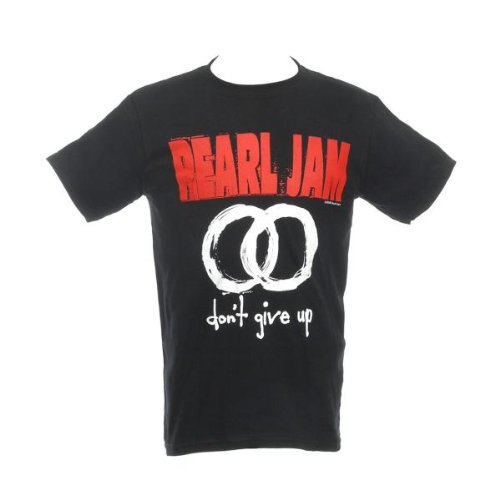 Collector's Mine Pearl Jam -Don'T Give Up Pear09Ts, Camiseta para Hombre, Negru, XL