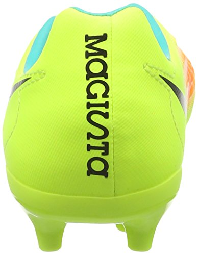 Nike Jr Magista Opus Ii Fg, Chaussures de Football Mixte Bébé Jaune (Volt Gelb/Schwarz-Total Orange-Clear Jade Türkis)