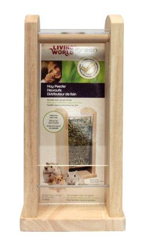 Living World Green Heuraufe für Hamster, Mäuse und Rennmäuse