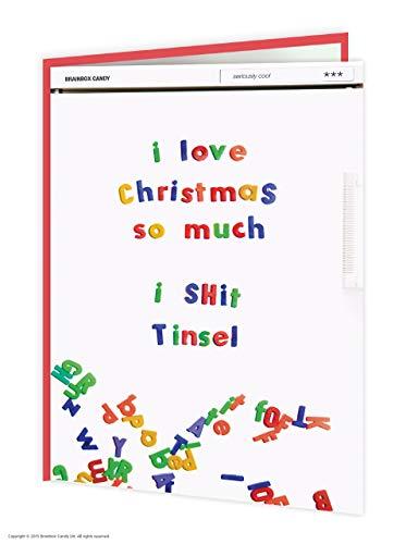 I Shit Tinsel Card