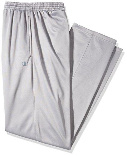 Champion Herren Hose Big and Tall Poly Fleece Open Bottom - grau - XX-Large 20 Fleece Open Bottom Pants
