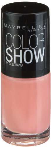 Maybelline New York Make-Up Nailpolish Color Show Nagellack Peach Smoothie / Ultra glänzender...