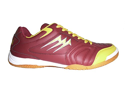 AGLA PROFESSIONAL F/40 INDOOR scarpe calcetto Red/Yellow
