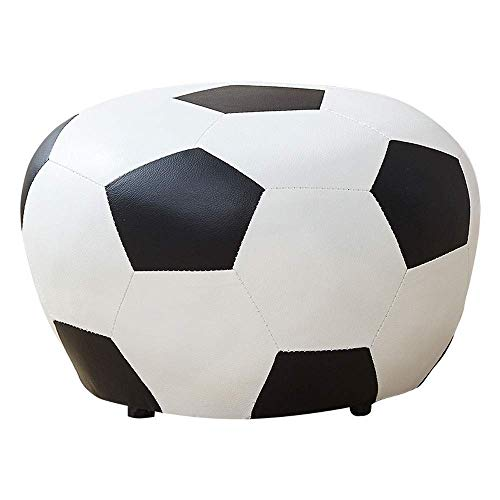 GWFVA Reposapiés Banco Zapatos Sofá fútbol niños