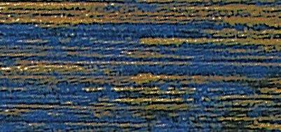 Rayher 3104010 Wachsfolie Antikstreifen, 20x10 cm, SB-Btl. 1 Stück, d.blau
