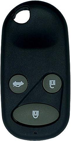 Chequers Motorstore Gehäuse für Knopffernbedienung Honda Civic CRV Accord Jazz etc.... 3Knopf-Fernbedienung Schlüsselanhänger (Jazz Knöpfe)