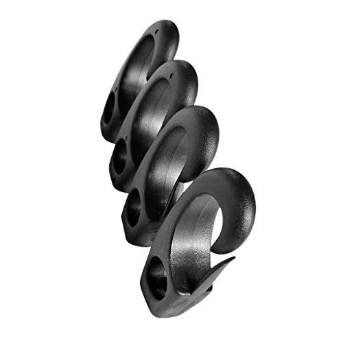 MagiDeal-4-Piezas-Clip-de-Nylon
