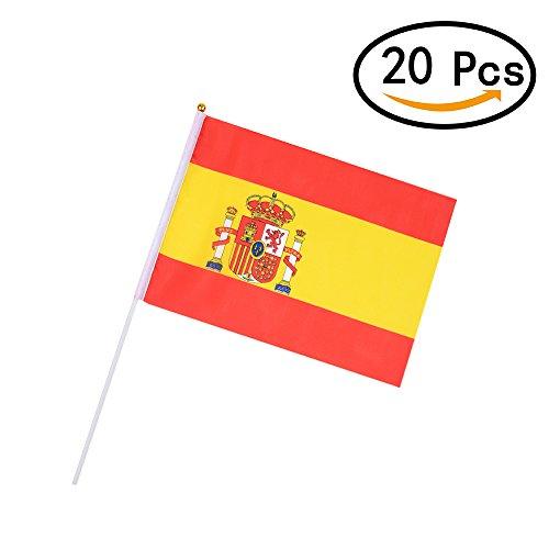 �ball Nationalflaggen für Parteien World Cup und Olympische Spiele (20PCS ES große Fahnen) (Indoor-basketball-spiel)