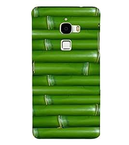 EPICCASE green bamboo Mobile Back Case Cover For LeTV Le Max (Designer Case)