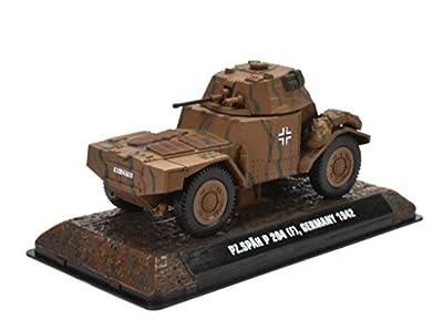 Pz. Spähwagen 204F Wehrmacht 1942 1:43 Fertigmodell aus Metall in Displayvitrine von IXO / ALTAYA / ATLAS