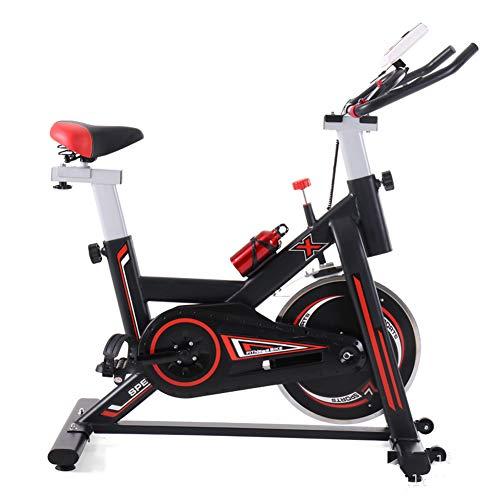 Heimtrainer Fahrrad für Zuhause,Indoor Cycle Spinning Fahrrad Ergometer Fahrrad Verstellbarer lenker Widerstand Rutschfester Saugnapf LCD Elektronische Distanzzeit usw Maximale Tragfähigkeit 200kg