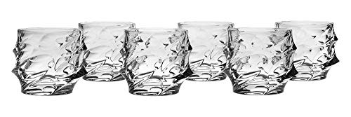 Bohemia Jihlava 8591581008827 Calypso Dof Verre, cristal au plomb, Transparent