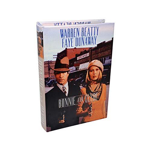 Art Deco Home Libro-Caja Fuerte Bonnie & Clyde 16x5x24cm