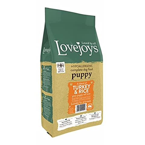 Lovejoys Hypoallergenic Puppy Turkey and Rice Dog Food, 2