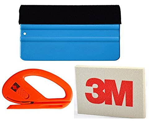 Professional Vinyl Wrapping 3 in 1 Kit. Inc Snitty and 2x Squeegee