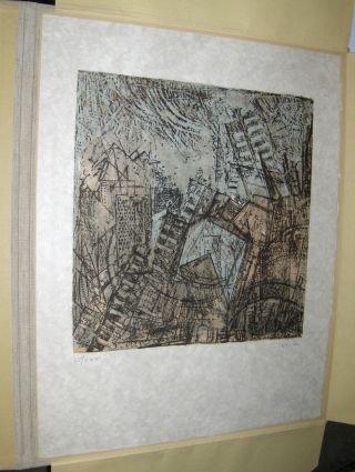 ANDRE VERLON (WILLY VERKAUF) * - ORIGINAL- 3Farb.-LITHOGRAPHIE auf Japanpapier (Japon) mit Bleistift...