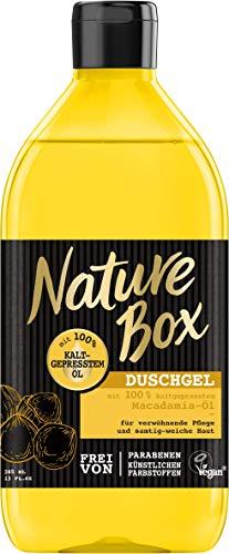 Nature Box Duschgel Macadamia-Öl, 6er Pack (6 x 385 ml)
