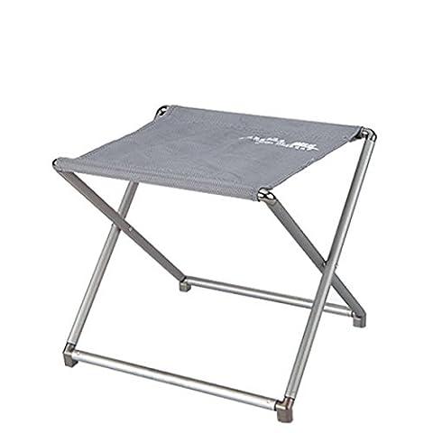 Portable Outdoor Stool Camping Fishing Folding Stool Ultra-light Aluminum Alloy Stool Mini Folding Stool