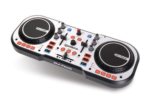 DJ-Tech DJFORALL Table de mixage à 2 molettes de scratch