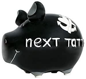 Tirelire next tattoo kCG tirelire kleinschwein tatouage noir