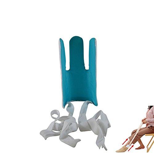 Sock Aid Und Stocking Assist, Flexible Kunststoff W/Terry Covered Anti-Rutsch-Widerstand Oberfläche, Einfach Putting Up Und Entfernen Von Socken Oder Compression Stocking