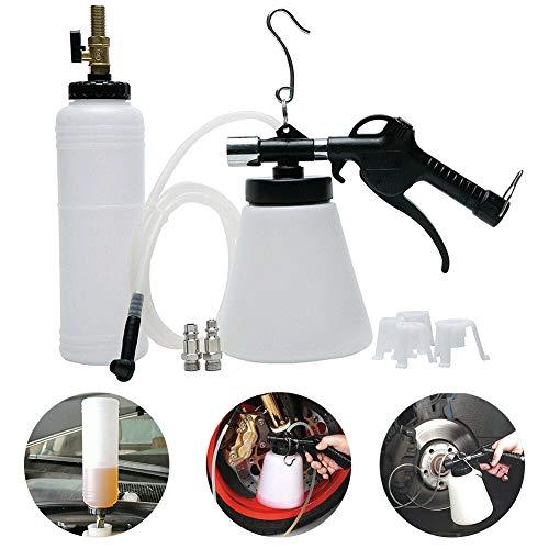 PoeHXtyy Pratico estrattore di Liquido Pneumatico per Auto Pneumatico Liquido di spurgo Strumento di spurgo dell'olio del Freno Kit di Sostituzio