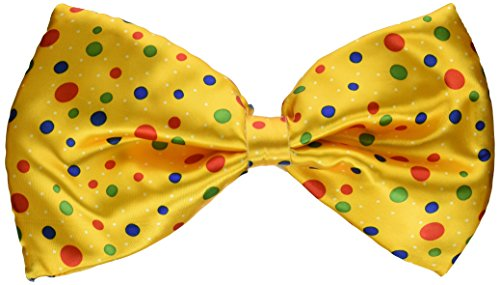 Jumbo Clown Polka Dot Bow Tie Costume Accessory Bow Tie Jumbo Polka Dot