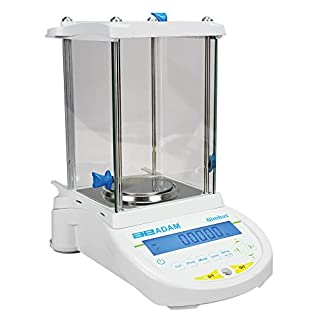 AE ADAM NBL 84e Analysenwaage, 80 g Kapazität, 0.0001 g Ablesbarkeit, externe Kalibrierung