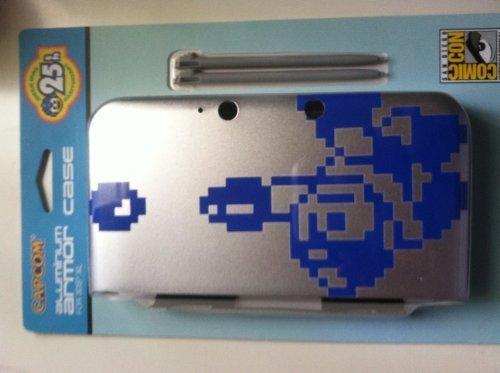 SDCC 2013 Exclusive Mega Man 25th Anniversary Nintendo 3DS XL Aluminum Case by Nintendo 3ds Xl Case