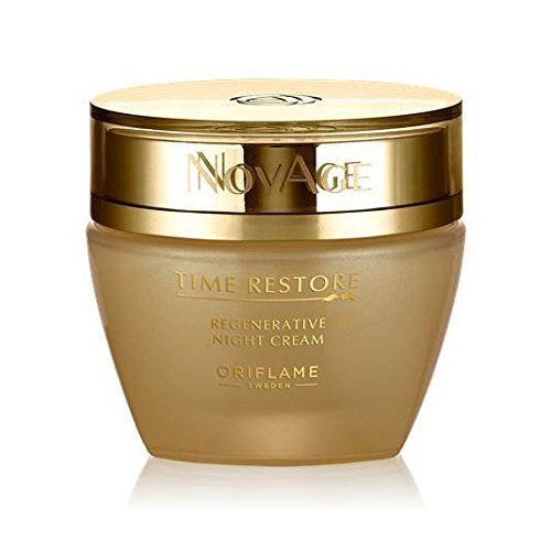 Deep Wrinkle Night Cream (NovAge Time Restore Regenerative Night Cream)