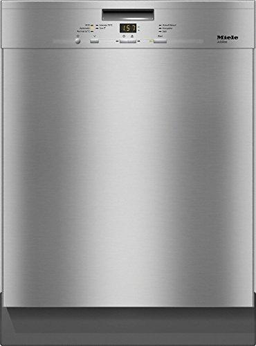 Miele G 4940 SCU Jubilee Geschirrspülmaschine mit 3D Schublade/Energiekl. A++ (266 kWh/Jahr)/14 Gedecke/Geschirrspüler unterbaufähig 60 cm mit Warmwasseranschluss/Spülmaschine mit viel Platz/Edelstahl