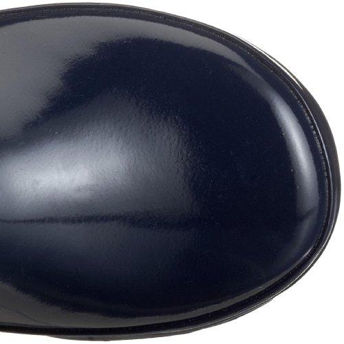 Playshoes 184307 Kinder Gummistiefel Basic aus Naturkautschuk Gelb (marine/gelb 413)