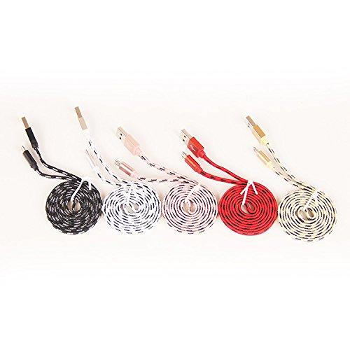 3/4-länge Bogen-unterstützung (Micro USB Cable Superior ZRL® Nylon mit High Speed Sync & Ladekabel für Samsung, HTC, LG, Kindle, Sony, die meisten Android Phones und mehr)