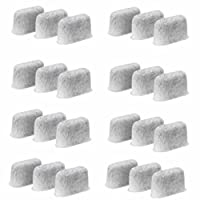 24-Replacement Charcoal Water Filters for Cuisinart Coffee Machines by Possiave