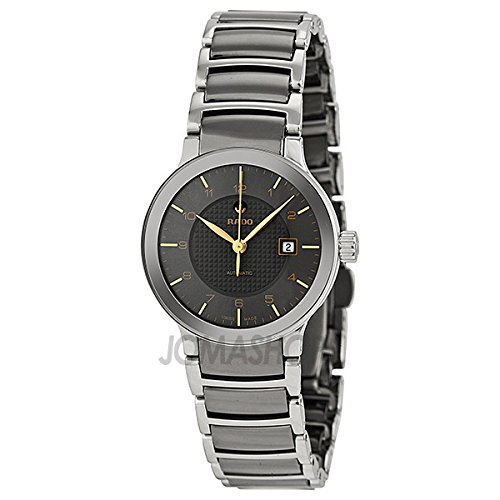 Rado Rado Centrix Automatic Stainless Steel and Ceramic Ladies Watch R30940132