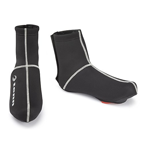 Tenn Unisex Fluid Water Resistant Cycling Overshoes