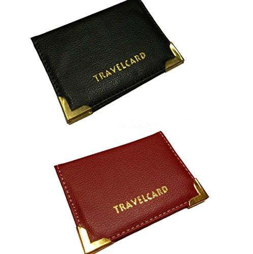 Kartenhalter für Netzkarten, Monatstickets, aus Leder - von Velson