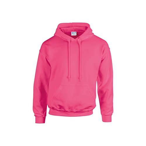 Gilden Herren Sweatshirt - Safety Pink