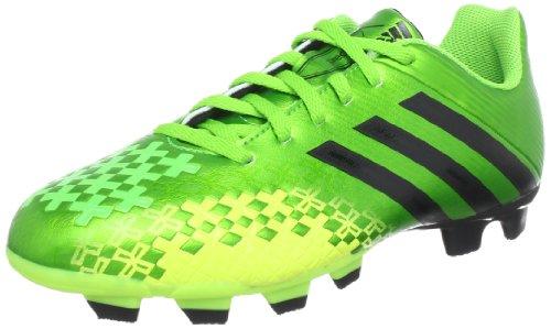 adidas Performance Predito LZ TRX FG Q21649, Herren Fußballschuhe, Grün (RAY GREEN F13 / BLACK 1 / ELECTRICITY), EU 41 1/3 (UK 7.5)