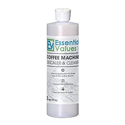 Coffee Descaler, Universal Descaling Solution For Keurig, Delonghi, Nespresso And All Single Use, Coffee Pot & Espresso Machines