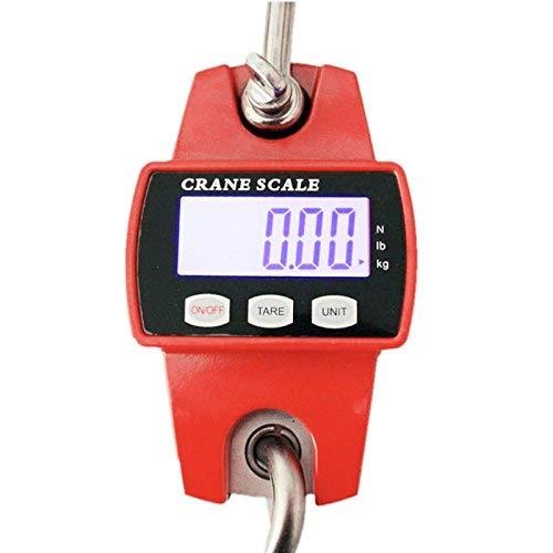 Balance professionnelle Grue suspendu balance Charge Balance LCD 300kg/100g Batterie Industrie