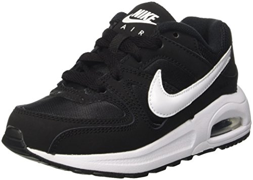 Nike Air Max Command Flex (Ps), Scarpe da Ginnastica Bambino, Nero (Blackwhitewhite 011), 34 EU