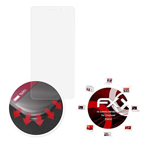 atFolix Schutzfolie passend für Elephone P9000 Folie, entspiegelnde & Flexible FX Bildschirmschutzfolie (3X)