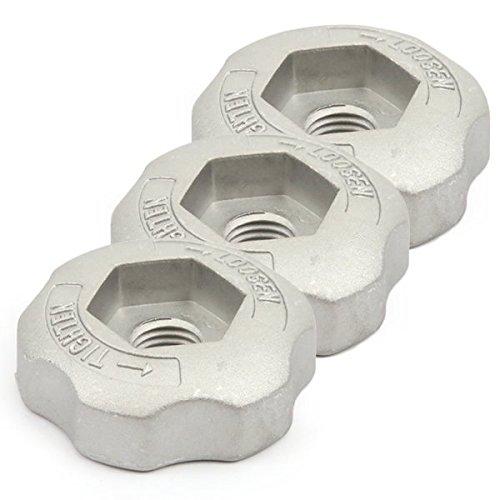 Ecrou de serrage pour tête débroussailleuse 2 fils nylon par 3 - Pièce neuve